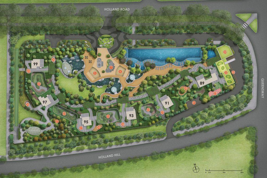 Hyll-on-Holland-Site-Plan-facilities-singapore